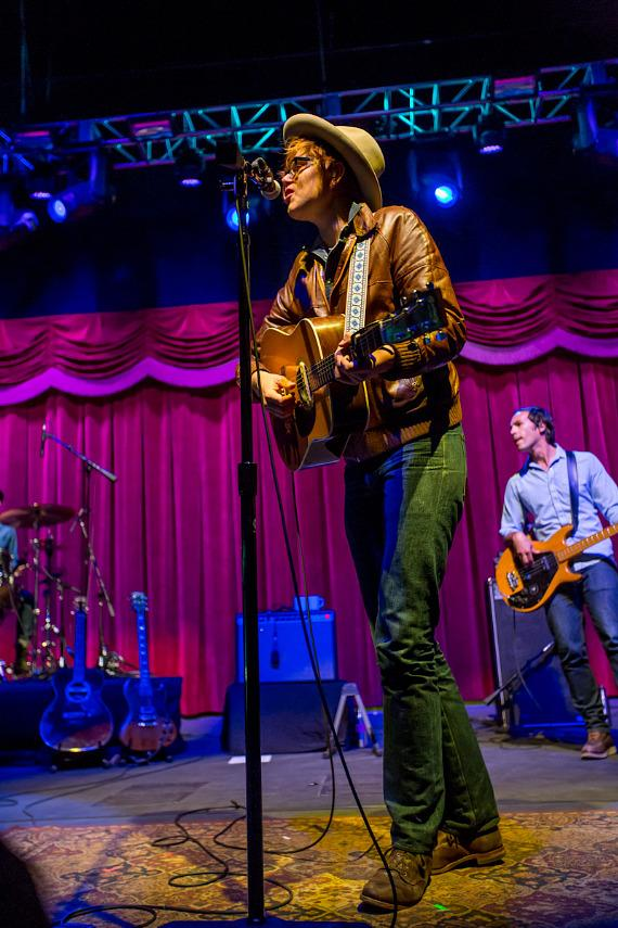 Brett Dennen performs at Brooklyn Bowl Las Vegas at The LINQ