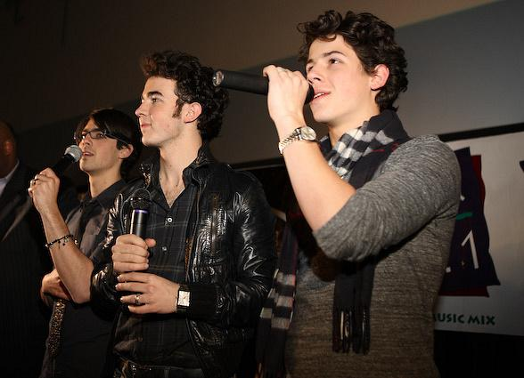 Jonas Brothers at Rave Theater