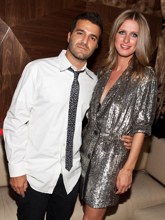 Nicky Hilton and David Katzenberg