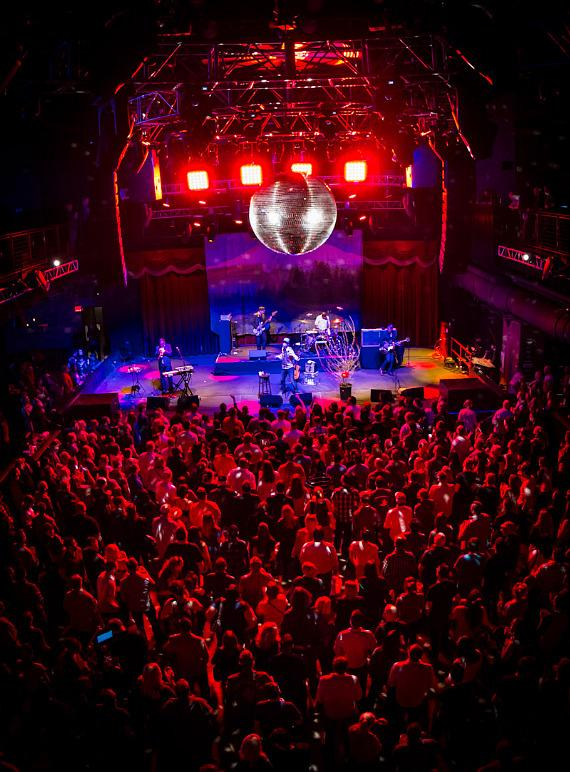 CAKE performs at Brooklyn Bowl Las Vegas at The LINQ
