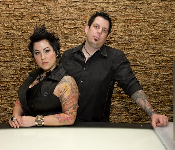 Sean Dowdell and Thora Dowdell in Club Tattoo