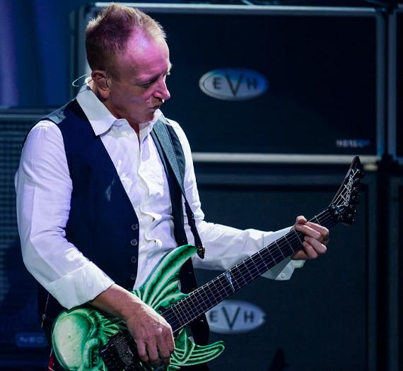 Def Leppard performs on opening night of VIVA Hysteria! at The Joint