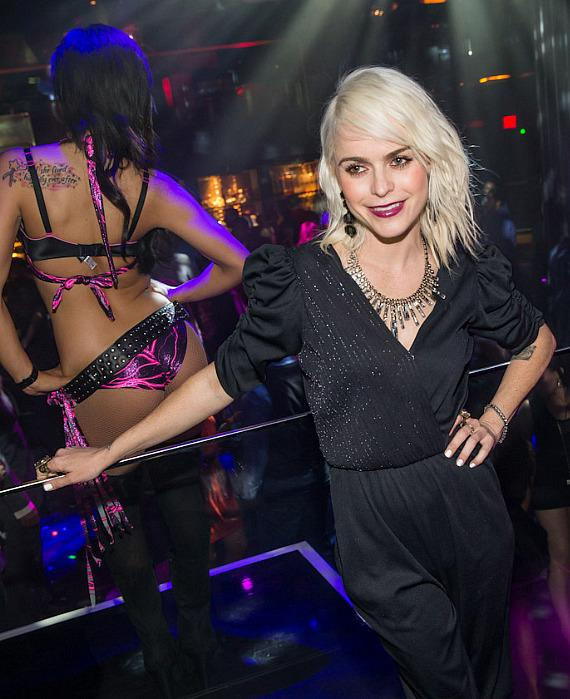 Taryn Manning inside Body English in Hard Rock Hotel Las Vegas