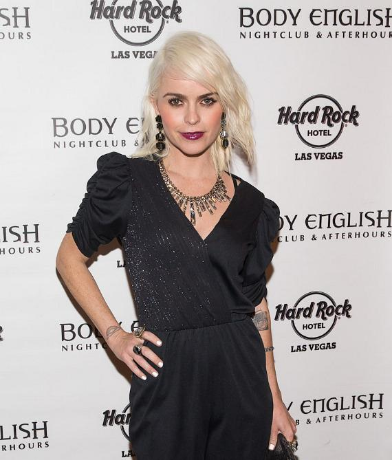 Taryn Manning arrives at Body English in Hard Rock Hotel Las Vegas