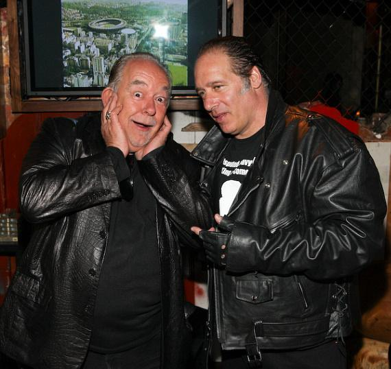 Robin Leach and Andrew Dice Clay