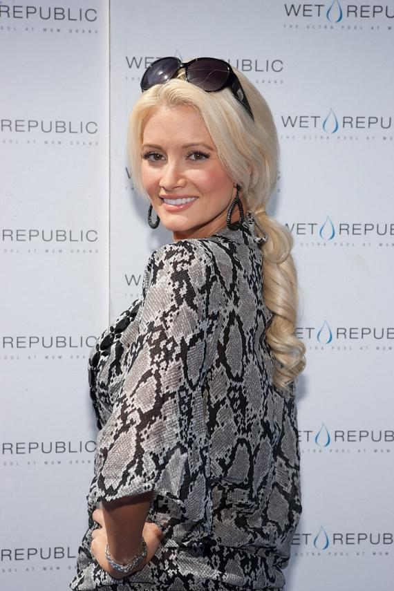 Holly Madison at WET REPUBLIC