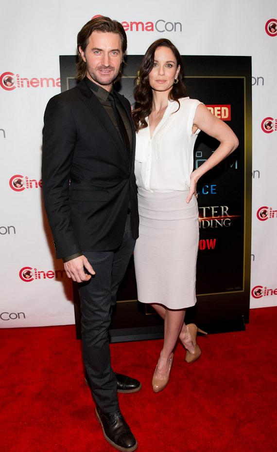 Richard Armitage and Sarah Wayne Callies