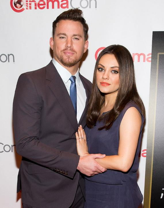 Channing Tatum and Mila Kunis