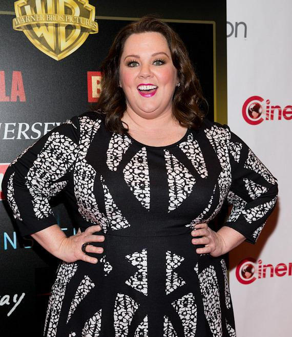 Melissa McCarthy at CinemaCon 2014