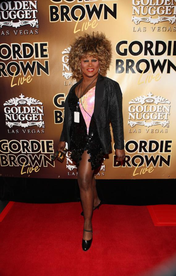 Larry Edwards as Tina Turner