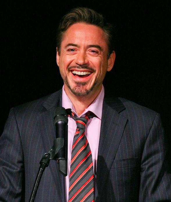 Robert Downey, Jr. at ShoWest 2009 in Las Vegas