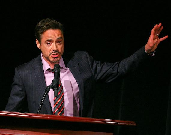 Robert Downey, Jr. at ShoWest 2009 at Paris Las Vegas Hotel & Casino