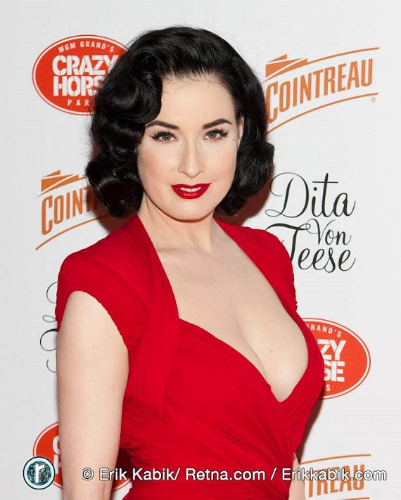 Burlesque Queen Dita Von Teese returns to the MGM Grand's Crazy Horse Paris
