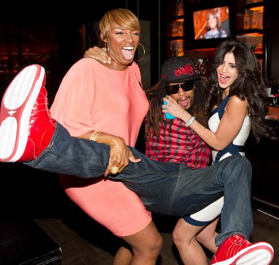 """NeNe Leakes, Lil Jon and Hope Dworaczyk at """"The Celebrity Apprentice"""" Viewing Party at Blush"""