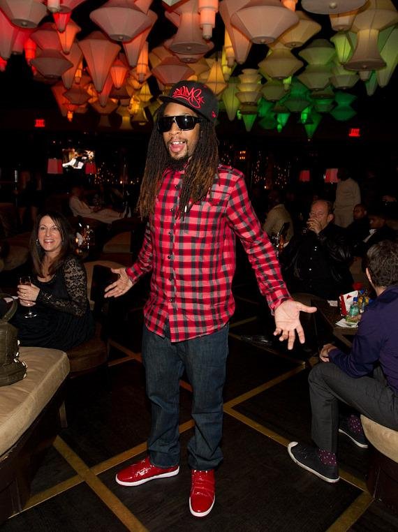 """Lil Jon at """"The Celebrity Apprentice"""" Viewing Party at Blush"""