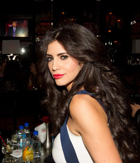 Hope Dworaczyk at The Celebrity Apprentice Viewing Party at Blush