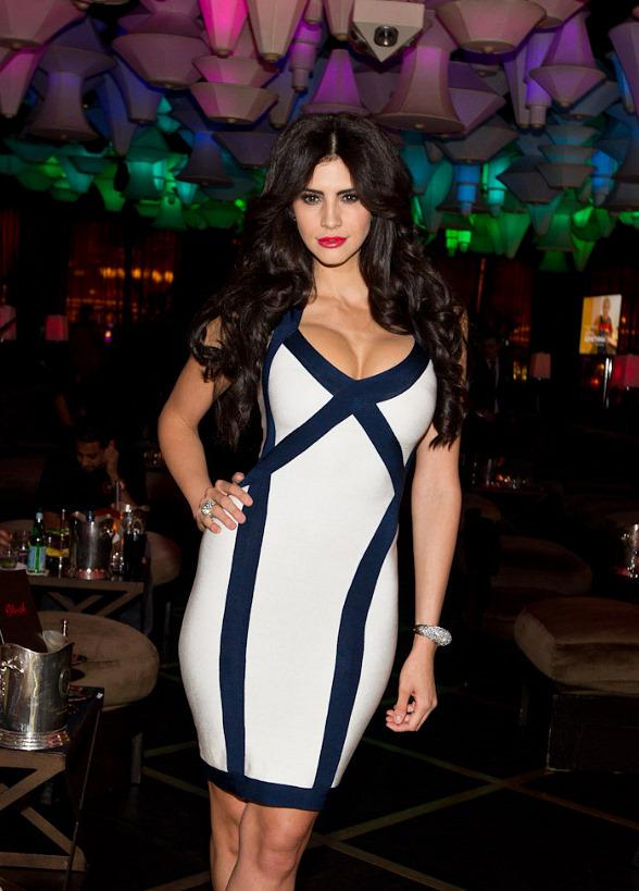 Hope Dworaczyk, 2010 Playmate of the Year at The Celebrity Apprentice Viewing Party at Blush