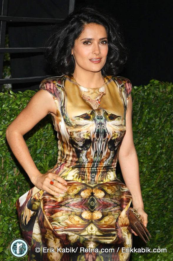 Salma Hayek at 2010 Vanity Fair Oscar Party