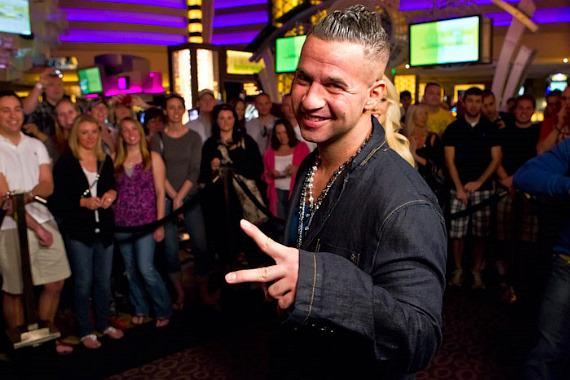 Mike 'The Situation' Sorrentino at Planet Hollywood