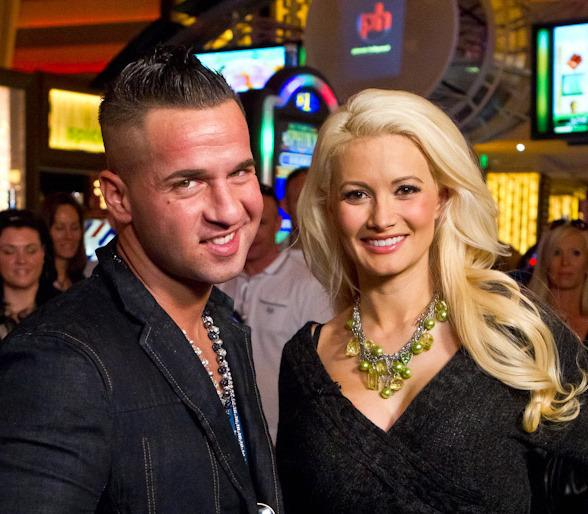 Holly Madison with Mike