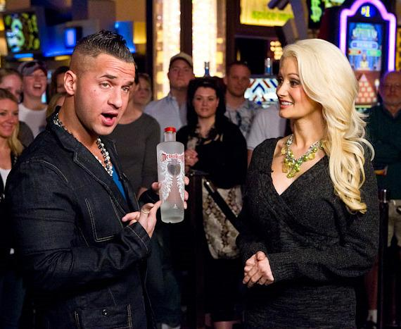 Mike 'The Situation' tells Holly Madision about Devotion Vodka