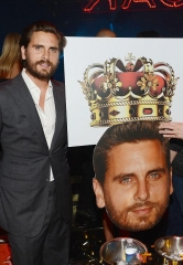 Scott Disick Enjoys a Night Out at 1 OAK Nightclub in the Mirage Hotel & Casino