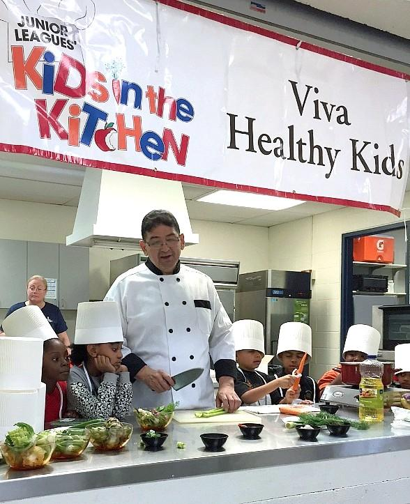 Local Chef Daniel Galan Treats Kids in Need to Exclusive Cooking Experience