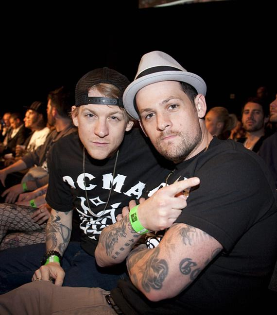Josh and Joel Madden at The Joint