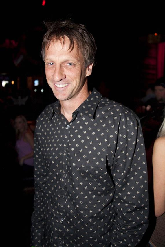 Tony Hawk at Wasted Space