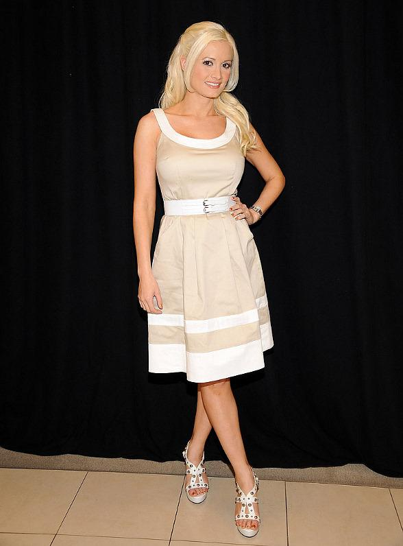 Holly Madison at Macy's at the Fashion Show Mall in Las Vegas