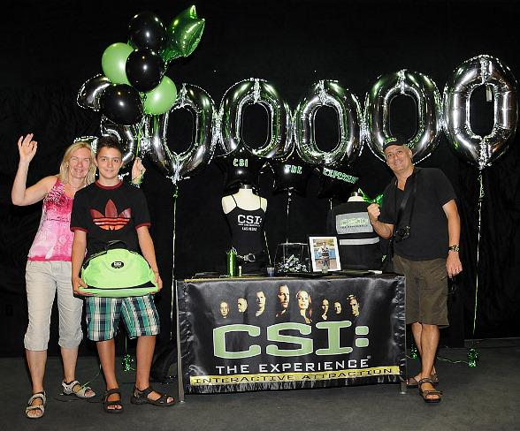 CSI: The Experience Welcomes 300,000th Guest
