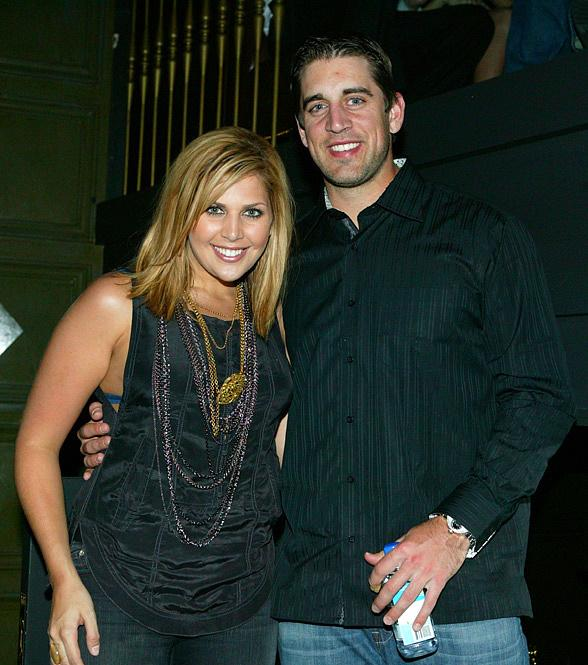 Hillary Scott and Aaron Rodgers at Hard Rock Hotel & Casino