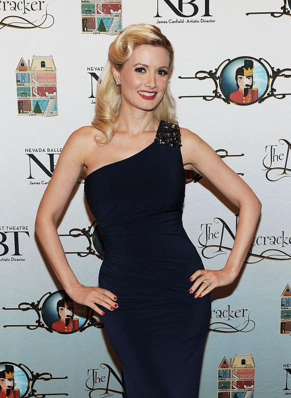 Holly Madison attends Opening Night of Nevada Ballet Theatre's The Nutcracker at The Smith Center
