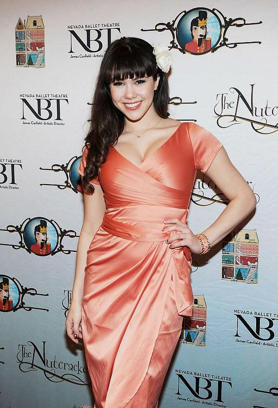 PIN UP star Claire Sinclair attends Opening Night of Nevada Ballet Theatre's The Nutcracker at The Smith Center