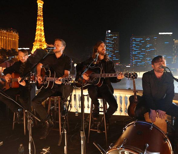 Surprise Performance by GRAMMY Award-Winning Rock Band Imagine Dragons in Las Vegas