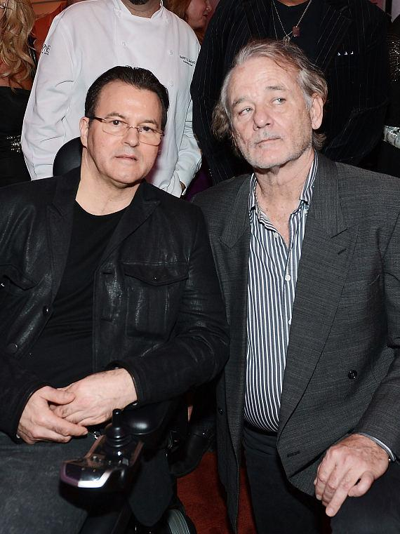 Kerry Simon and Bill Murray