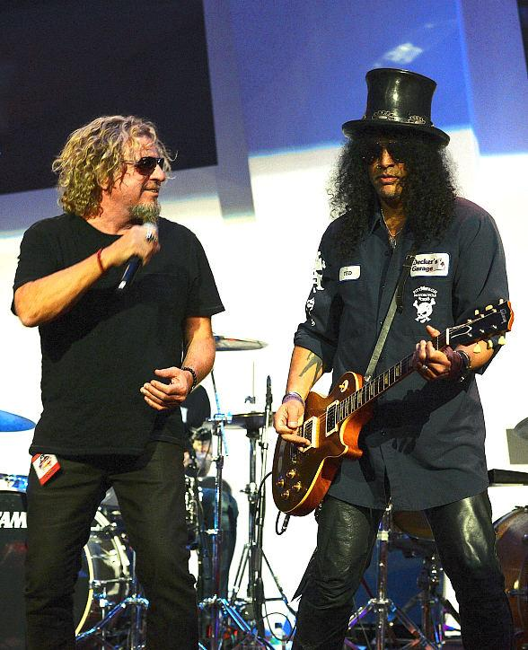 "Bill Murray, Slash, Sammy  Hagar, Vince Neil at ""Simon Says Fight MSA"" Benefit Concert"