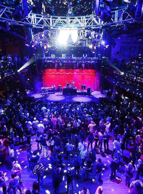 Brooklyn Bowl at The LINQ in Las Vegas