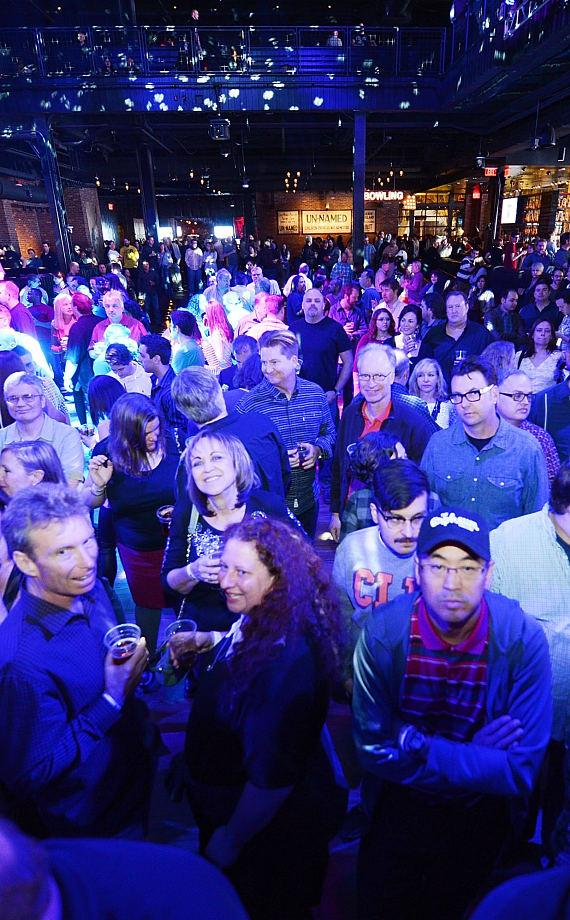 Crowd at Brooklyn Bowl Las Vegas