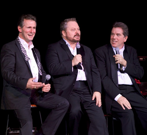 The Phat Pack:  Ted Keegan, Randal Keith and Bruce Ewing