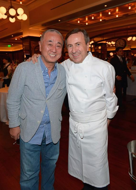 Chef Nobu Matsuhisa and Chef Daniel Boulud