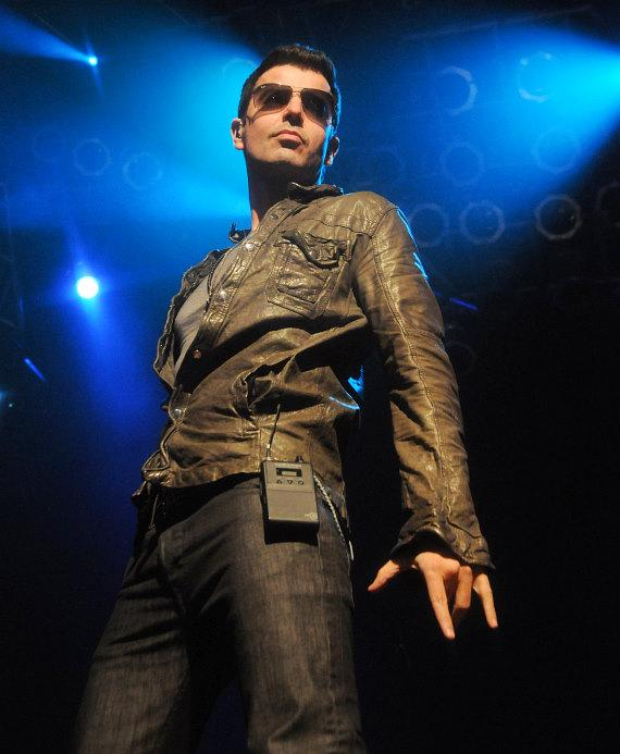 New Kids On The Block member Jordan Knight performs at the House of Blues