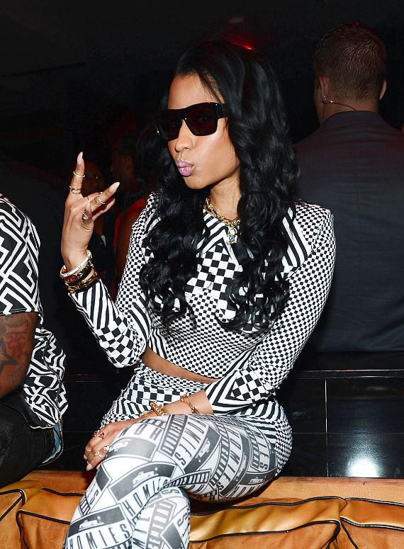 Nicki Minaj at 1 Oak Nightclub at The Mirage in Las Vegas