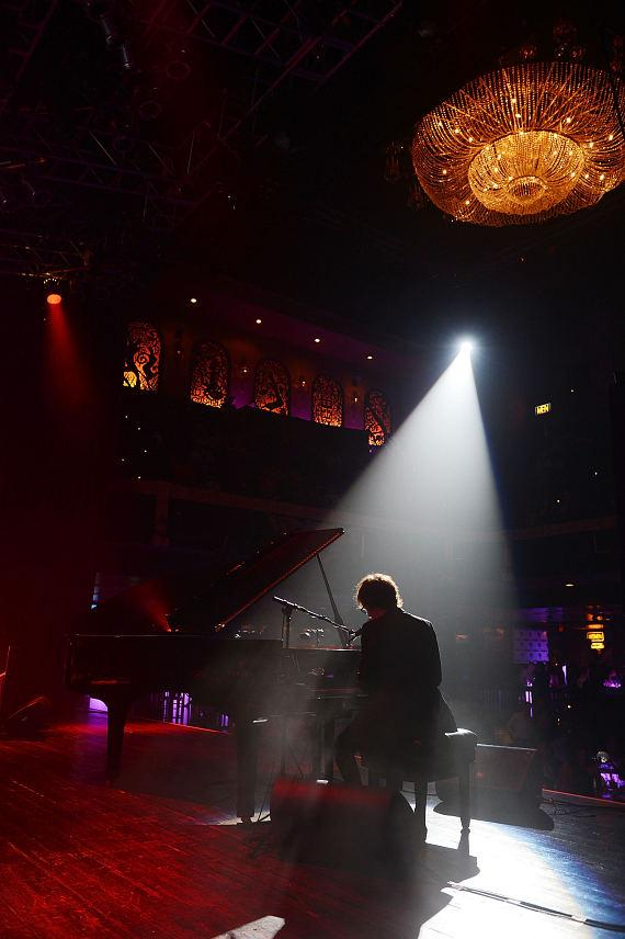 Ben Folds performs at the Scleroderma research fund raiser at House of Blues Las Vegas on June 5, 2014