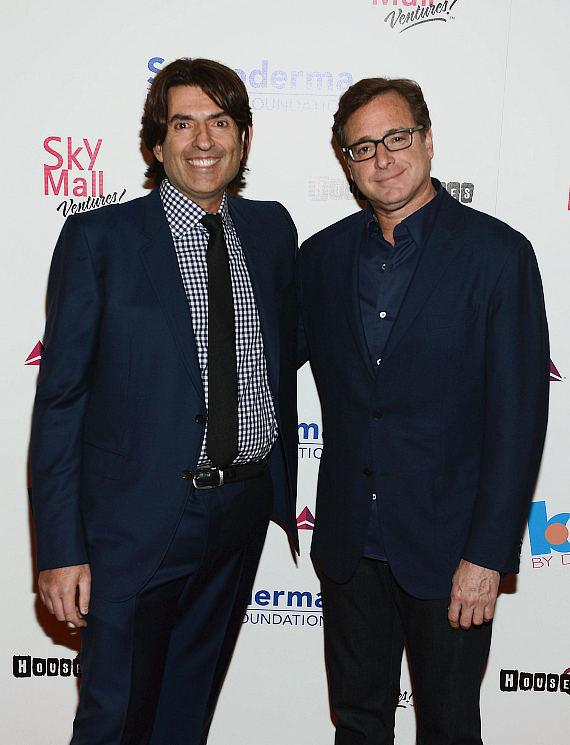 Saville Kellner and Bob Sagat at Scleroderma research fund raiser to help find a cure for Scleroderma at House of Blues Las Vegas on June 5, 2014 in Las Vegas