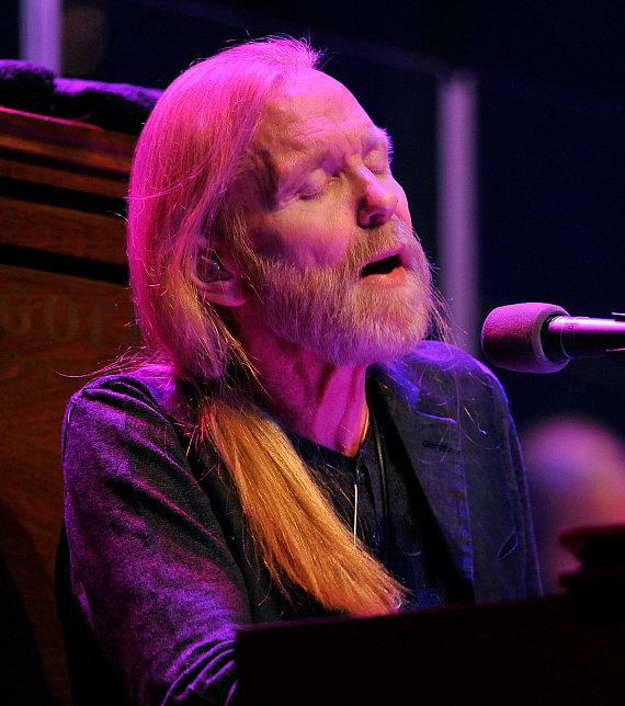Gregg Allman performs at The Pearl inside Palms Casino Resort in Las Vegas