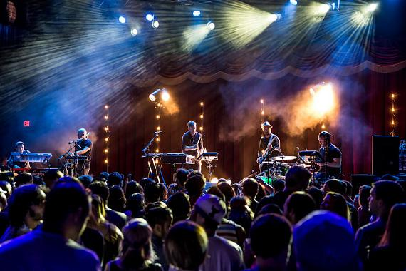 Bonobo performs at Brooklyn Bowl Las Vegas at The LINQ