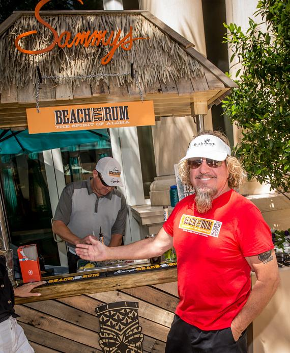 Sammy Hagar at Azure Luxury Pool at The Palazzo Las Vegas
