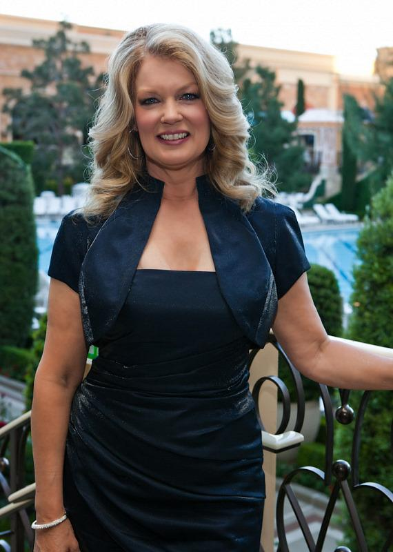 Mary Hart at Wynn's La Cave