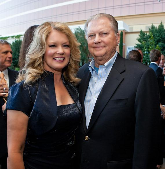 Mary Hart and husband Burt Sugarman